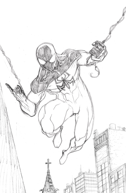 Lujo Spiderman Hoja Para Colorear Molde - Dibujos Para Colorear En ...