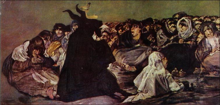 FRANCISCO DE GOYA  Goya+aquelarre01