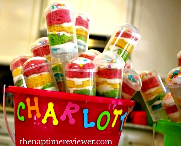 push pop cake ideas