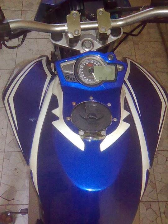 Modifikasi Yamaha Vixion Moge