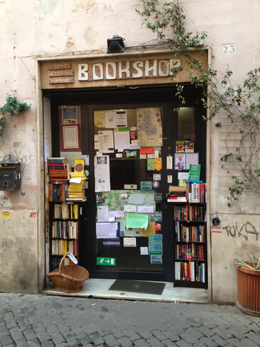 Open Door Bookshop // Rome // Trastevere
