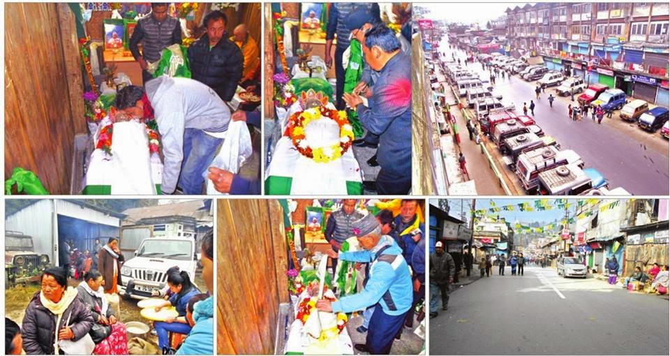 Hills Unite to Mourn Late. Subash Ghising