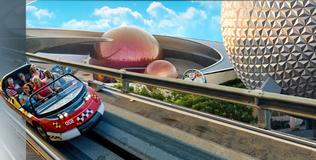 Test Track no Epcot Disney Orlando