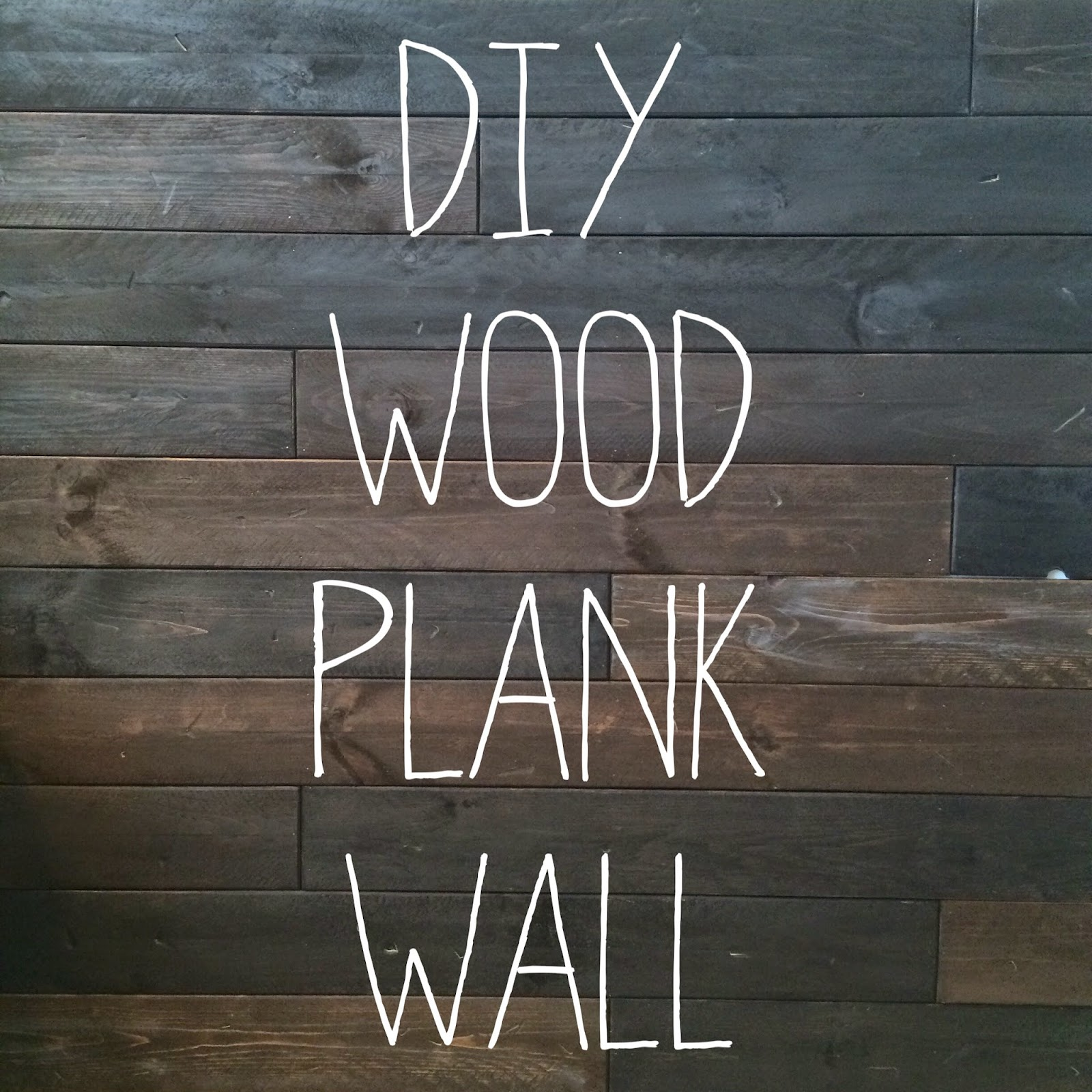 Wooden Plank Wall ~ Leroylime diy wood wall