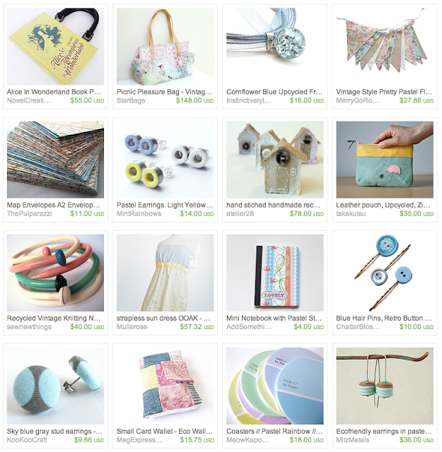 Upcycled Summer Gift Guide on Etsy #ecofriendly