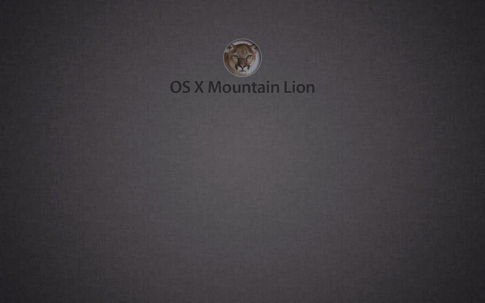 mac os x mountain lion desktop wallpapers