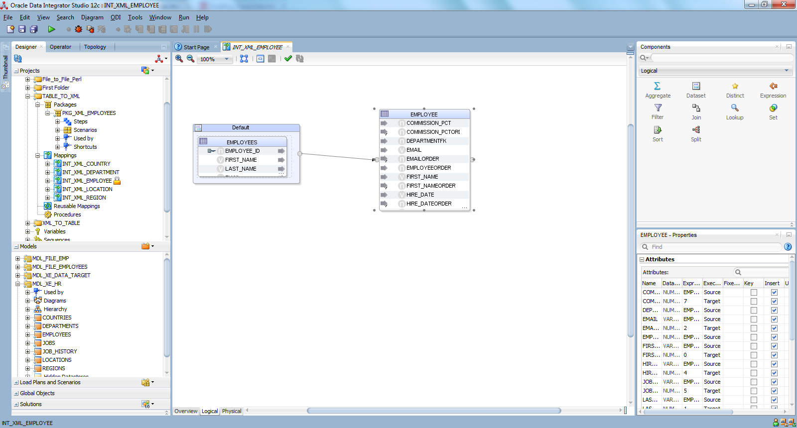 Oracle data integrator tutorials i will talk about 12c odi new features with hands on in my next posts baditri Gallery