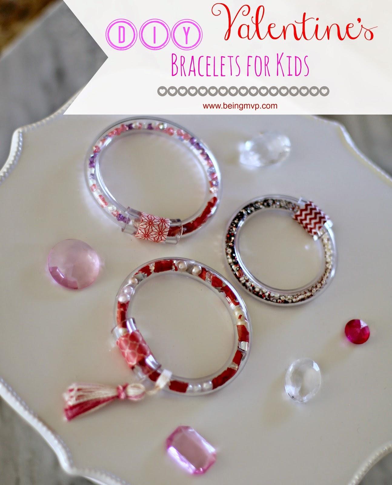 Außergewöhnlich DIY Valentineu0027s Bracelets For Kids #FunCraftsWithMom