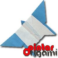 Cara Membuat Origami Kupu Kupu 2