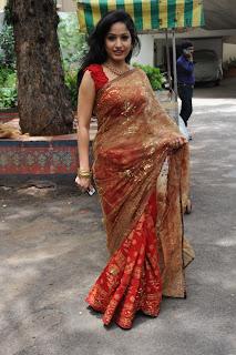 madhavi latha  Pictures in saree 11.jpg