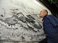 Huang Guofu Pelukis Tanpa Lengan dari China