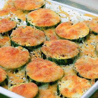 Baked Zucchini with Mozzarella