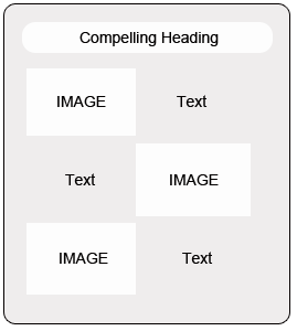 Best ratio of images & text in email