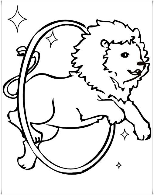 Ausmalbilder Löwe - Ausmalbilder Kostenlos
