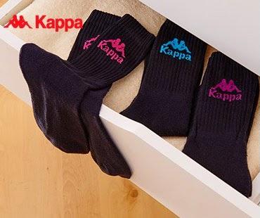 Skarpety Kappa, 3-pak z Biedronki
