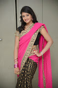 Sandeepthi Gorgeous in Designer Saree-thumbnail-1