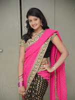 Sandeepthi Gorgeous in Designer Saree-cover-photo