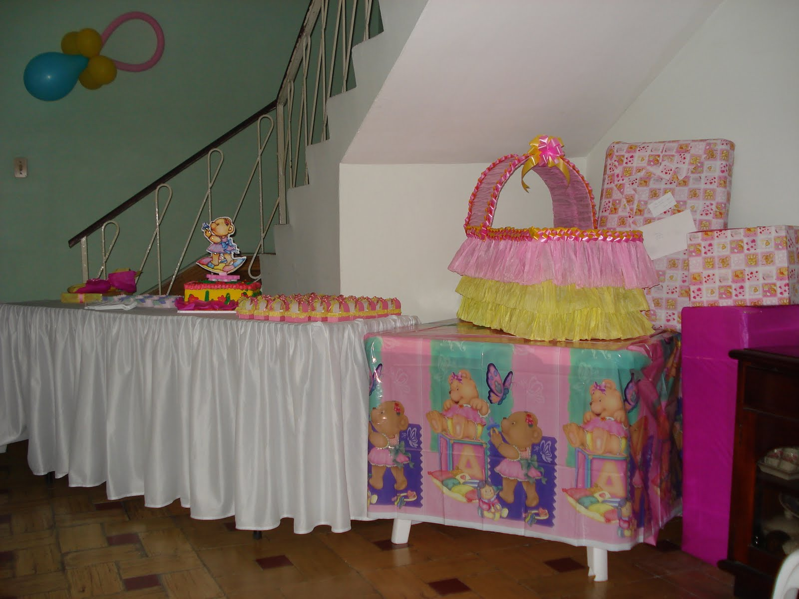 Clalin party decoracion baby shower for Decoracion baby shower nina