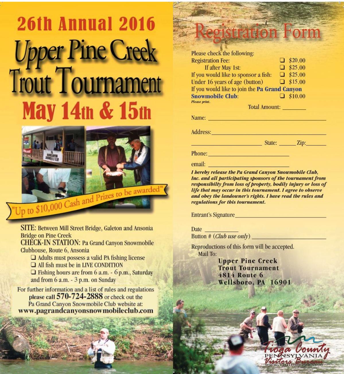 Upper Pine Creek Trout Tournament