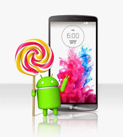 LG G3 is going to get Lollipop update.
