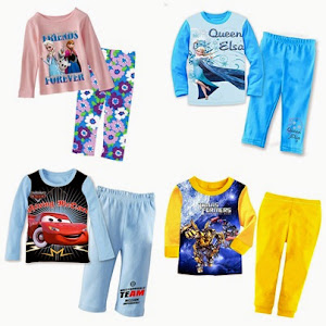 2015 Big Size Sleepwear (8t to 12t)