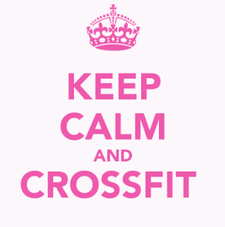 keep calm and cross fit