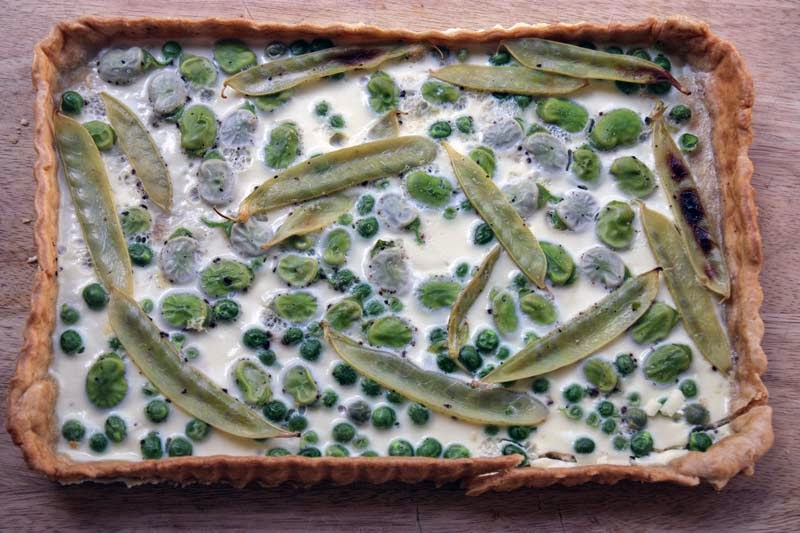 mangetout peas how to cook