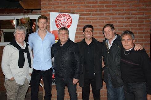 Julian Camino, Ignacio Bailone, Claudio Gugnali, Pablo Blanco, Guillermo Trama y Abel Herrera
