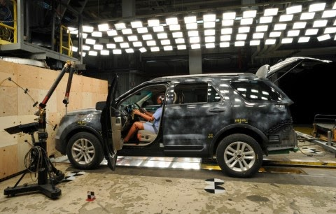 Ford Enhances Their Virtual Crash System