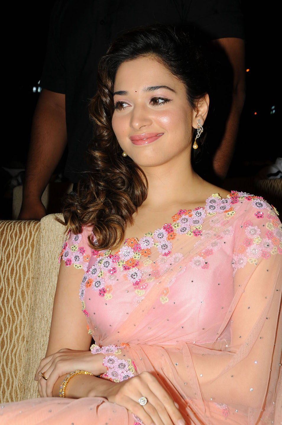 tamanna gorgeous at racha audio launch, tamannah