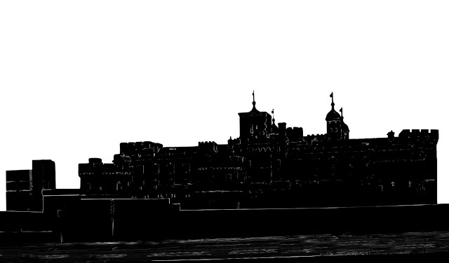 tower of london silhouette