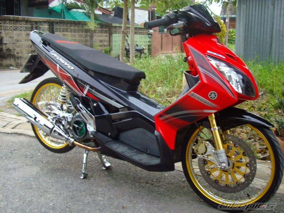 Modifikasi Yamaha Nouvo Velg Jari-Jari