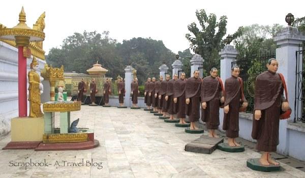 Burmese Pagoda Khushinagar Uttar Pradesh India