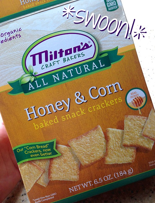 Milton All-Natural Cornbread Crackers