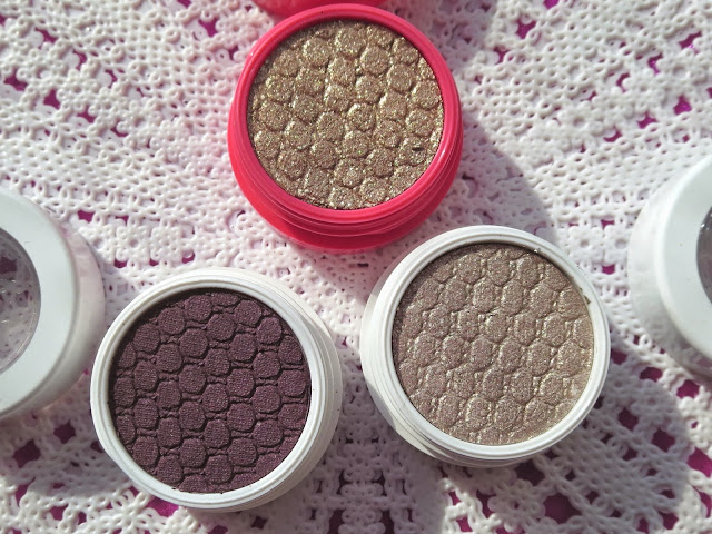 a picture of Colourpop Cosmetics Eye Shadows in Hustle, I <3 This, Birthday Girl