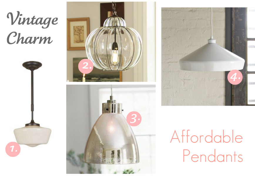 Prairie Perch Stylish Affordable Pendant Lights - Affordable pendant lighting