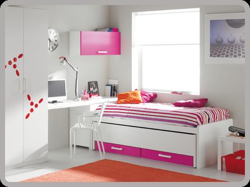 10 fotos de estilos de dormitorios juveniles for Dormitorio nina blanco
