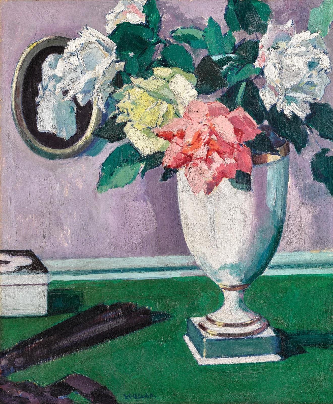 Francis Cadell Roses