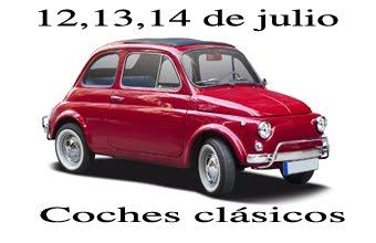 Serie de tres coches clásicos