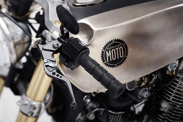 Moto XV1100 Motorcycle gas tank