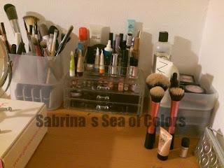 maquillaje organizado