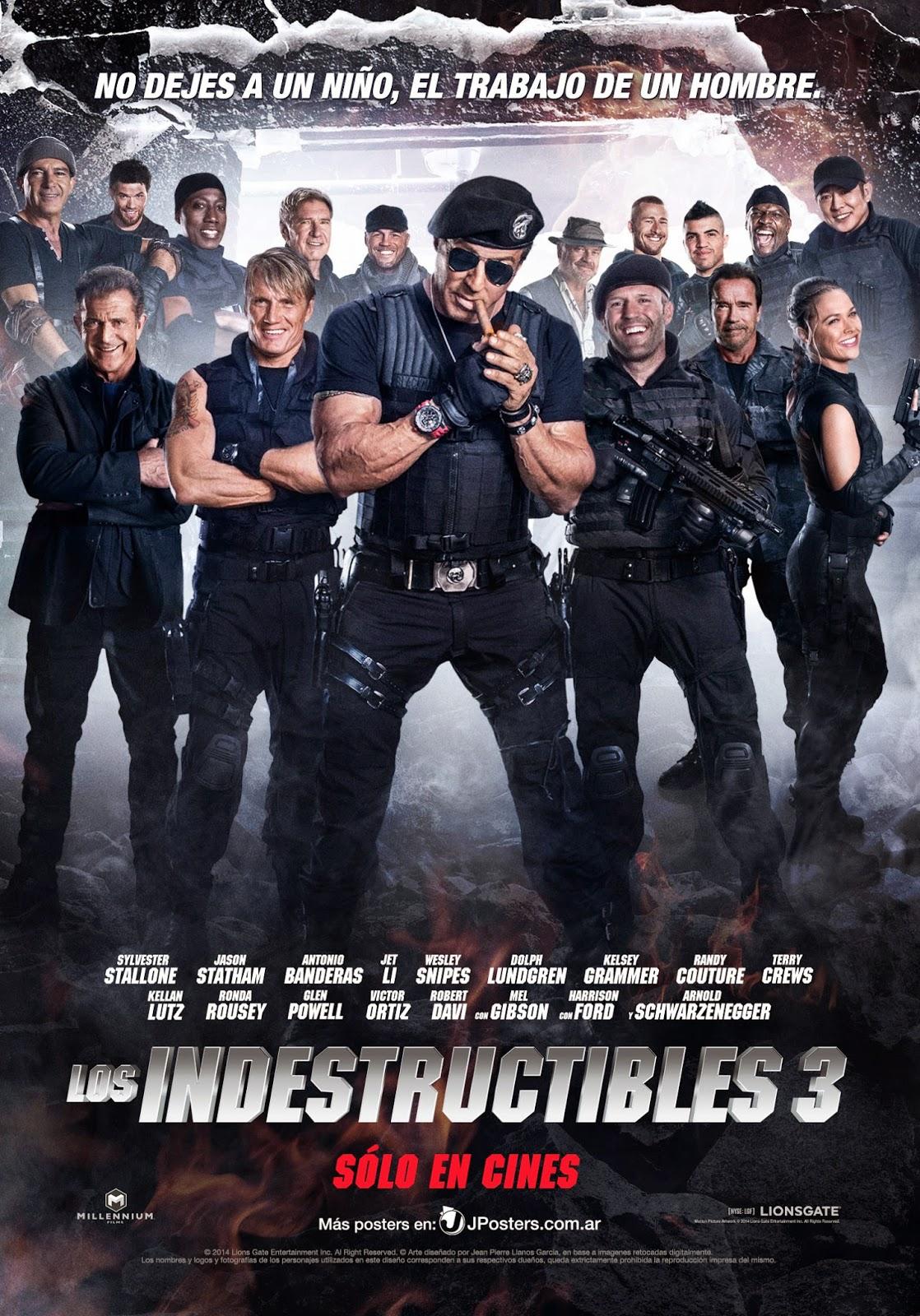 Los Indestructibles 3 Antonio Banderas Motorcycles