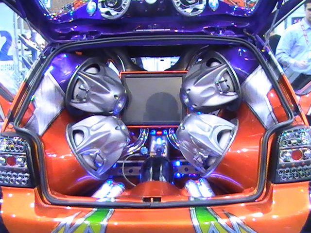 Cars Showroom  Car Audio System