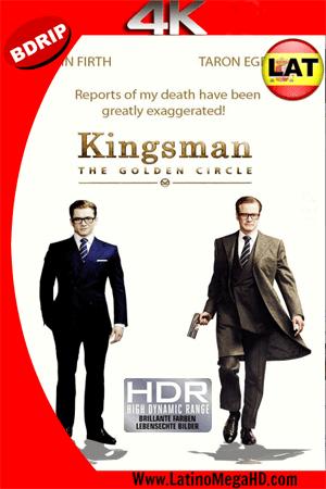 Kingsman: El Círculo Dorado (2017) Latino Ultra HD 4K BDRIP 2160p ()
