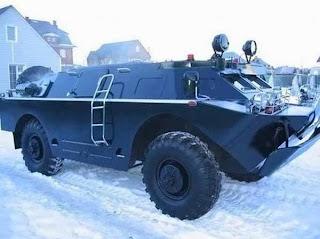 Russian Armored Vehile (Car)
