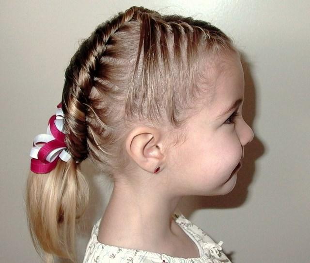Peinados para niñas para eventos especiales bodas comuniones  - Peinados De Niñas Para Una Boda