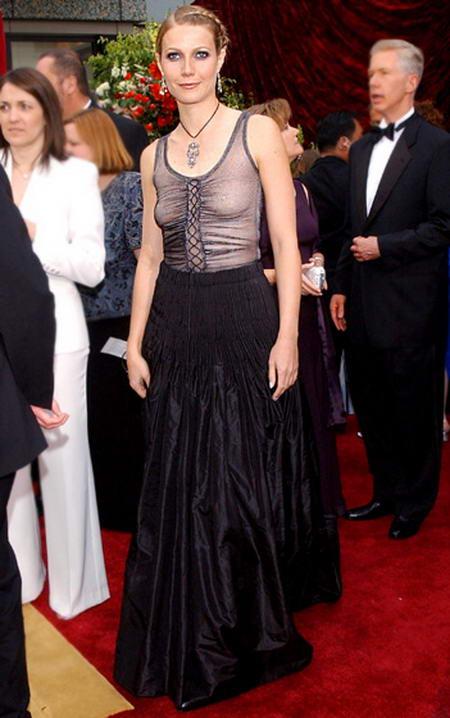 Gwyneth Paltrow la Oscar în 2002