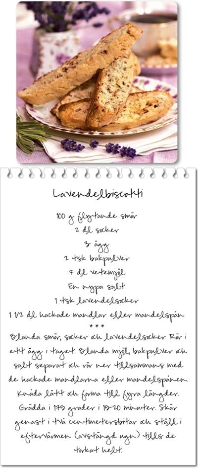 lavendelbiscotti, biscotti, lavendelskorpa
