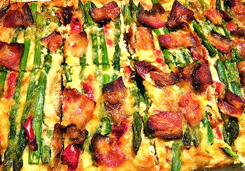 Whole Pan of Baked Strata