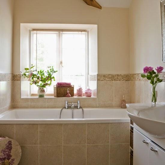 Desain kamar mandi kecil dan unik for Pictures of beautiful small bathrooms
